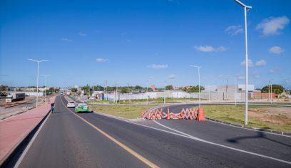 STT bloqueia alça do viaduto do Trabalhador para obras de pintura
