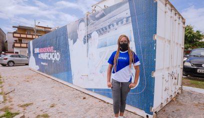 Moradora da costa é contratada após capacitação promovida pela prefeitura