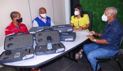Suofis recebe novos equipamentos para combate à poluição sonora
