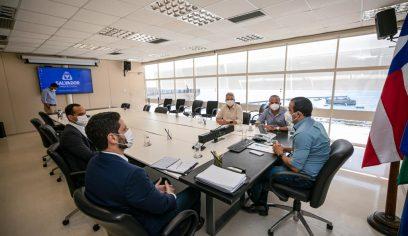 Prefeitos da RMS participam de reunião de alinhamento