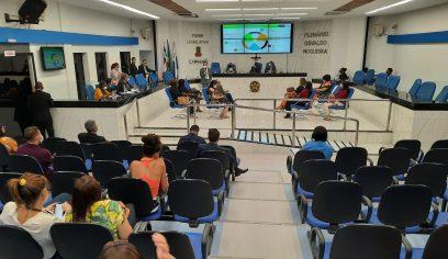 Sesau presta contas do 2° quadrimestre de 2021 na Câmara e apresenta avanços