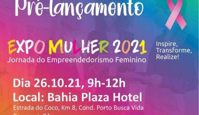 Setur participa do pré-lançamento da Expo Mulher 2021 em 26/10