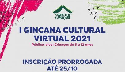 Inscrições para Gincana Cultural Virtual são prorrogadas para segunda-feira (25)
