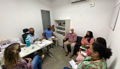 Parceria entre Secult e Sedap é discutida em reunião