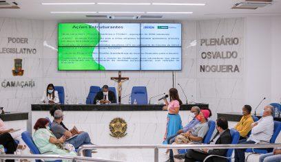 Contas do 2º quadrimestre de 2021 da Seduc são apresentadas em audiência pública