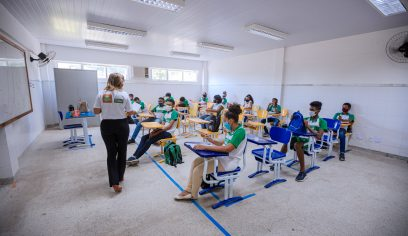PPAC iniciou oficinas em escolas nesta quarta-feira (20)